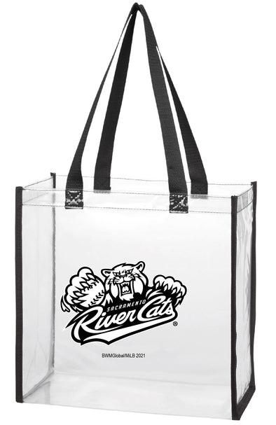 CLEAR STADIUM TOTE, SACRAMENTO RIVER CATS