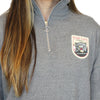 DAKOTA 1/4 ZIP LADIES, SACRAMENTO RIVER CATS