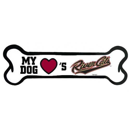 DOG BONE MAGNET, SACRAMENTO RIVER CATS
