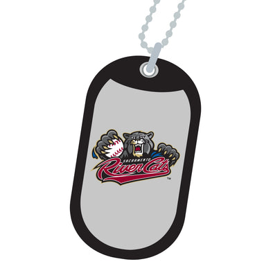 DOG TAG NECKLACE, SACRAMENTO RIVER CATS