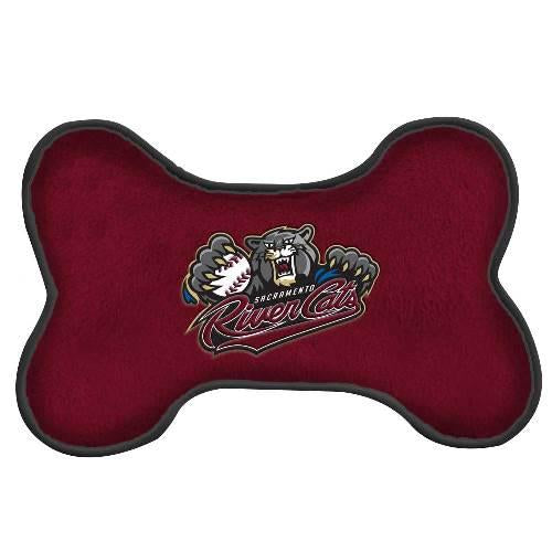 DOG TOY BONE, SACRAMENTO RIVER CATS