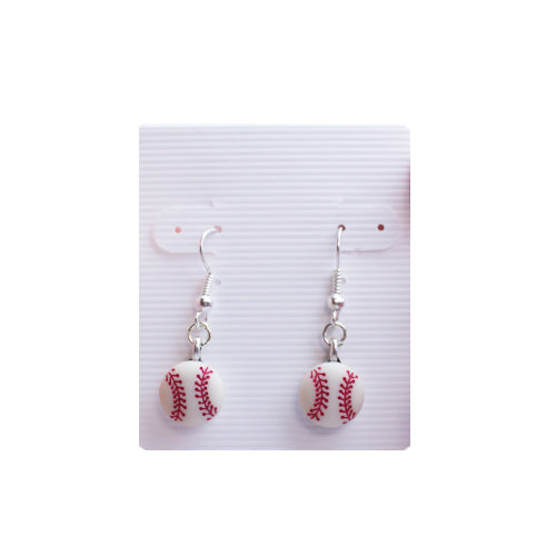 EARRINGS SMALL DANGLE, SACRAMENTO RIVER CATS