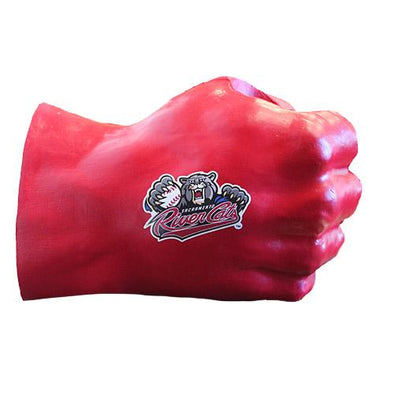 FIST DRINK HOLDER - RED, SACRAMENTO RIVER CATS