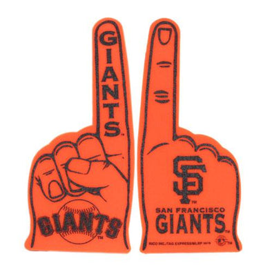 GIANTS FOAM FINGER, SACRAMENTO RIVER CATS