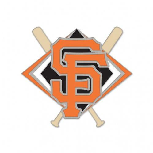 PIN - SF CROSSED BATS, SACRAMENTO RIVER CATS