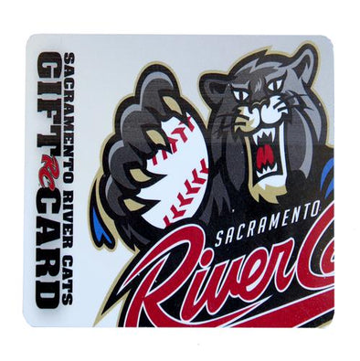 GIFT CARD, SACRAMENTO RIVER CATS