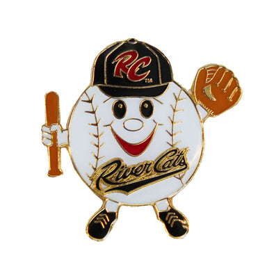 PIN - HAPPY BALL RC, SACRAMENTO RIVER CATS
