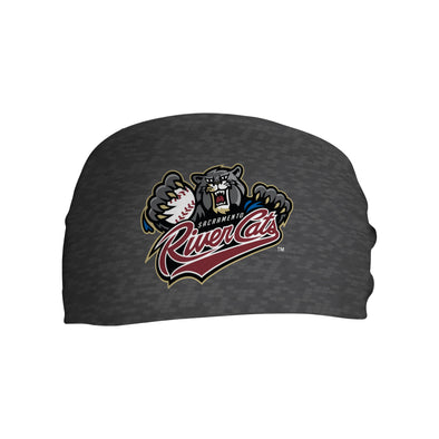 HEADBAND RIVER CATS PRIMARY LOGO, SACRAMENTO RIVER CATS