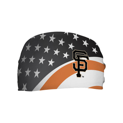 HEADBAND SF STARS AND STRIPES, SACRAMENTO RIVER CATS
