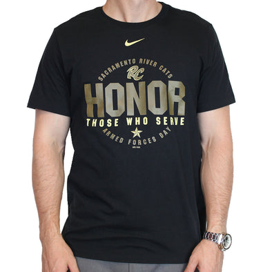 HONOR MILITARY T, SACRAMENTO RIVER CATS