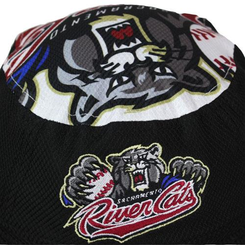 JR LOGO TOPPER- YOUTH, SACRAMENTO RIVER CATS