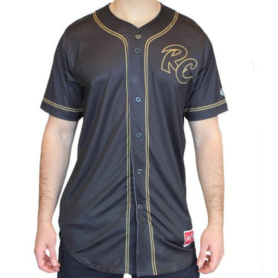 JERSEY BLACK AND GOLD, SACRAMENTO RIVER CATS
