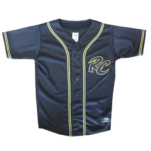 JERSEY BLK/GOLD YOUTH, SACRAMENTO RIVER CATS