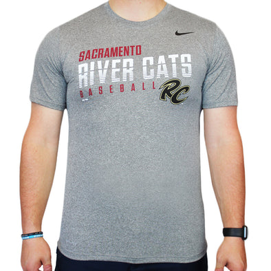 JOE SHORT SLEEVE NIKE T, SACRAMENTO RIVER CATS