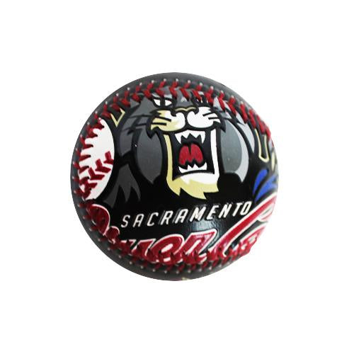 LARGE PRIMARY BASEBALL, SACRAMENTO RIVER CATS