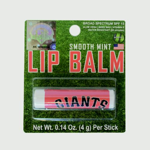 LIP BALM GIANTS, SACRAMENTO RIVER CATS