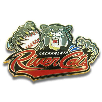 PIN - PRIMARY LOGO, SACRAMENTO RIVER CATS