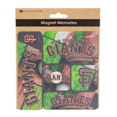 MAGNET 5 PACK SF, SACRAMENTO RIVER CATS