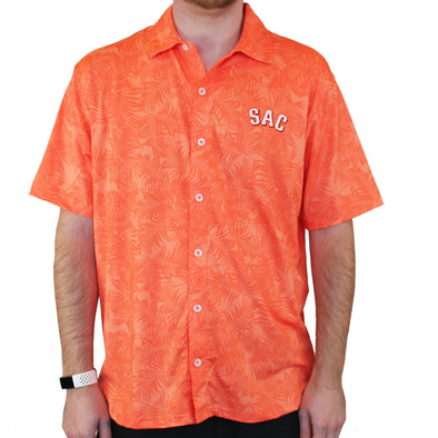 MAUI SAC FULL BUTTON SHIRT, SACRAMENTO RIVER CATS