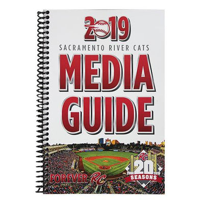 RIVER CATS MEDIA GUIDE 2019, SACRAMENTO RIVER CATS