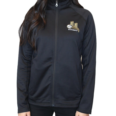MICRO FLEECE ZIP LADIES, SACRAMENTO RIVER CATS