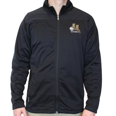 MICRO FLEECE ZIP MEN, SACRAMENTO RIVER CATS