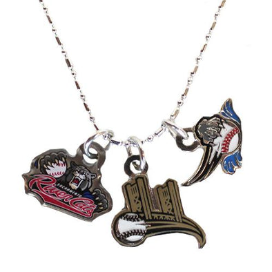 NECKLACE 3 CHARMS 19, SACRAMENTO RIVER CATS
