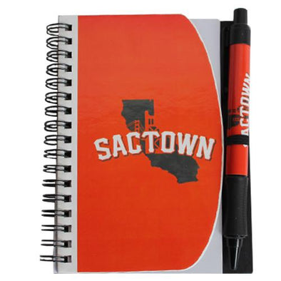 NOTEBOOK SACTOWN 4X6, SACRAMENTO RIVER CATS
