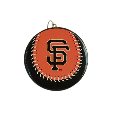 ORNAMENT BASEBALL SF GIANTS, SACRAMENTO RIVER CATS