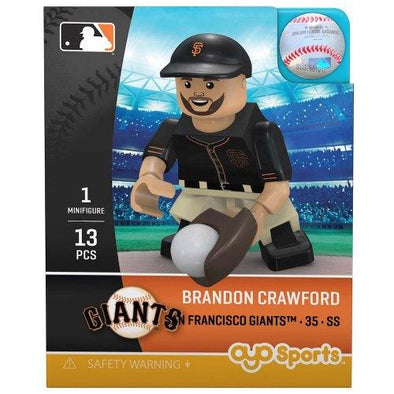 OYO MINI FIGURE CRAWFORD, SACRAMENTO RIVER CATS