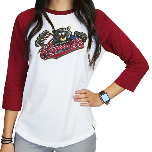 PERF BBALL L/S T LADIES, SACRAMENTO RIVER CATS