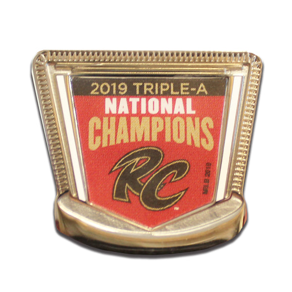 PIN 2019 TRIPLE-A NATIONAL CHAMPIONS, SACRAMENTO RIVER CATS