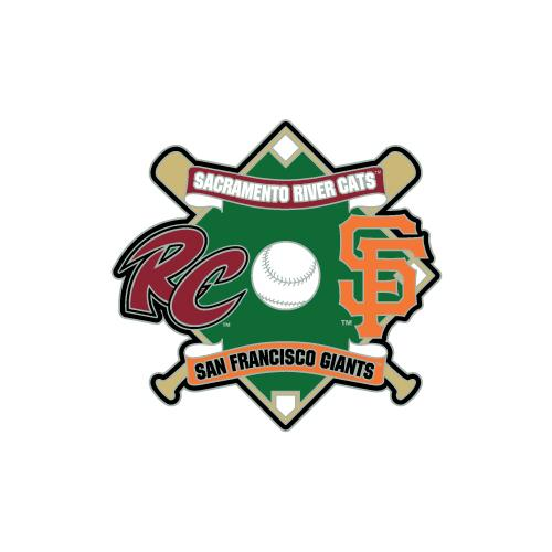 PIN AFFILIATE 2017, SACRAMENTO RIVER CATS