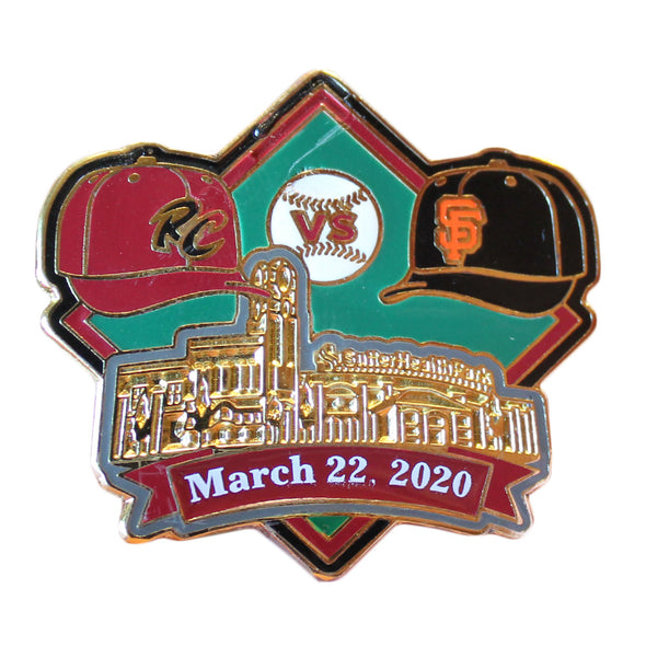 PIN EXHIBITION GAME 2020, SACRAMENTO RIVER CATS
