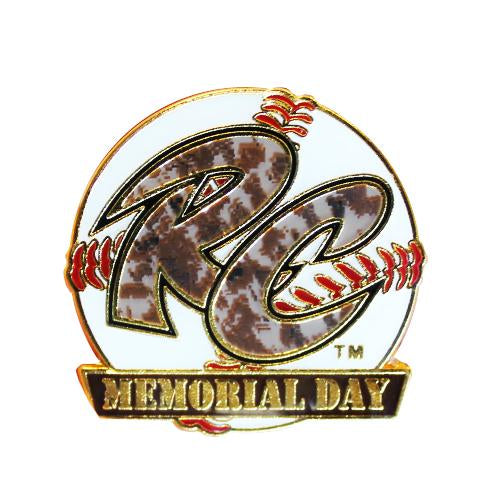 PIN MEMORIAL DAY 18, SACRAMENTO RIVER CATS