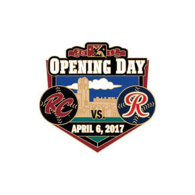 PIN OPENING DAY 2017, SACRAMENTO RIVER CATS