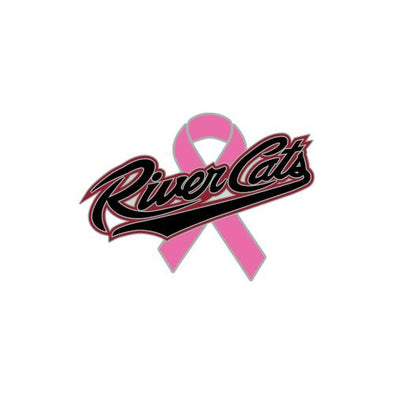 PIN PINK RIBBON 2017, SACRAMENTO RIVER CATS
