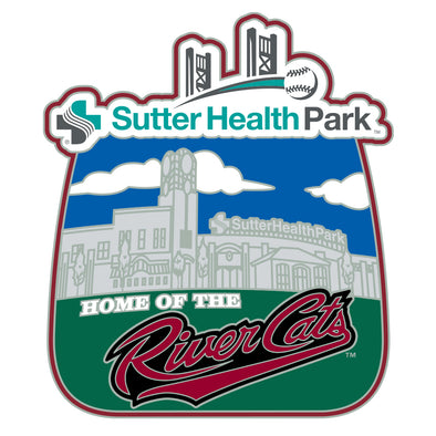 PIN STADIUM 20, SACRAMENTO RIVER CATS