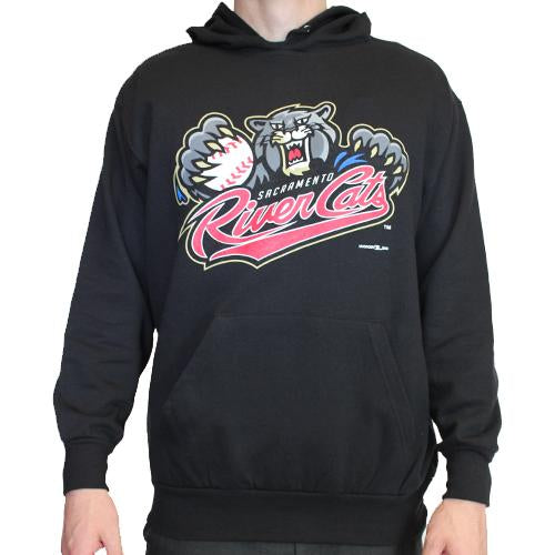 PRIMARY HOODIE BLACK 18, SACRAMENTO RIVER CATS