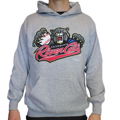 PRIMARY HOODIE GREY 18, SACRAMENTO RIVER CATS