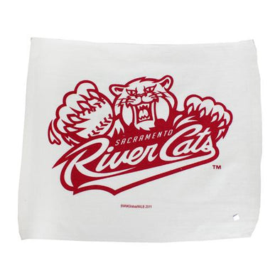 RALLY TOWEL, SACRAMENTO RIVER CATS