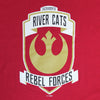REBEL FORCES T YOUTH, SACRAMENTO RIVER CATS