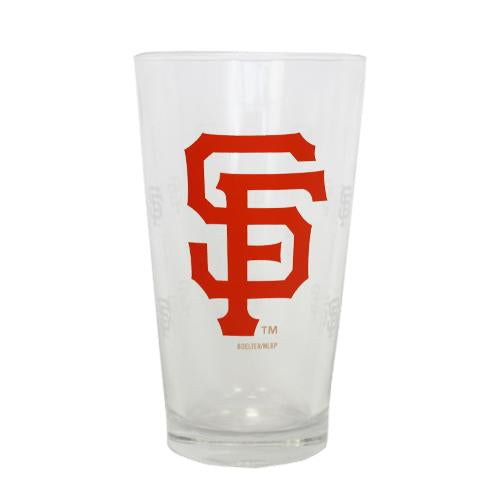 SF PINT GLASS, SACRAMENTO RIVER CATS