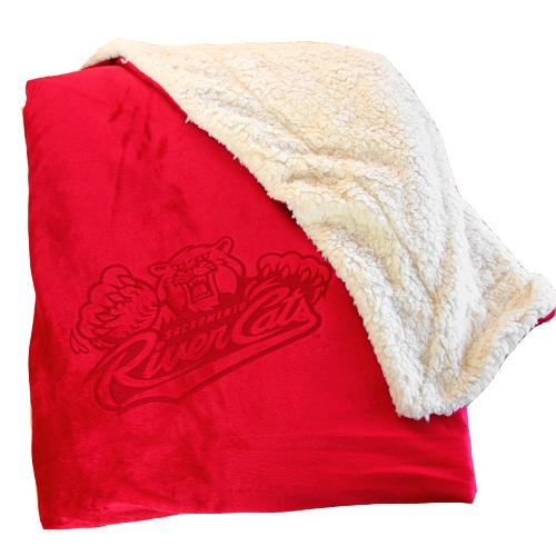 SHERPA BLANKET (RED), SACRAMENTO RIVER CATS