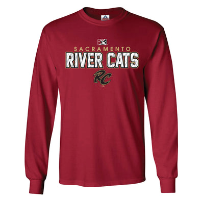 SHINER LONG SLEEVE, SACRAMENTO RIVER CATS
