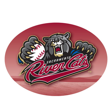 STICKER PRIMARY, SACRAMENTO RIVER CATS