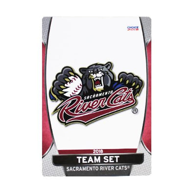 TRADING CARDS 2018 RC, SACRAMENTO RIVER CATS