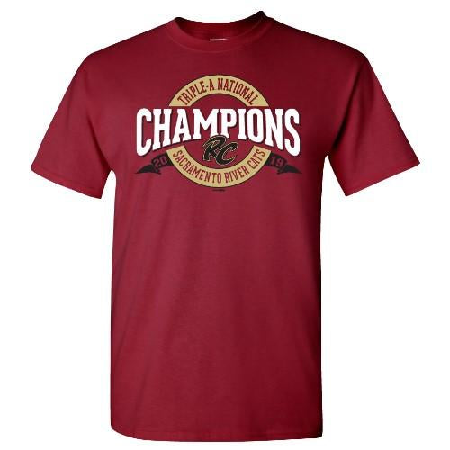 TRIPLE-A NATIONAL CHAMPIONS T, SACRAMENTO RIVER CATS