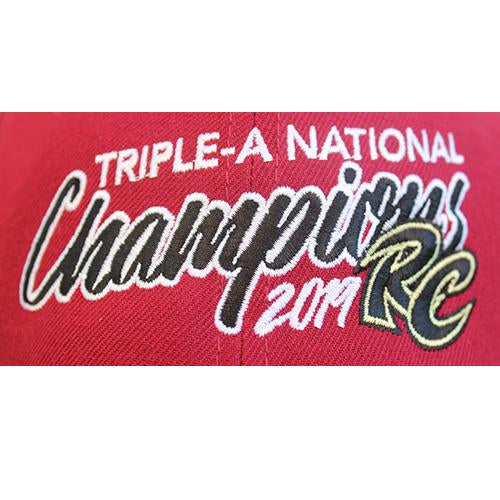 TRIPLE-A NATIONAL CHAMPIONS HAT, SACRAMENTO RIVER CATS