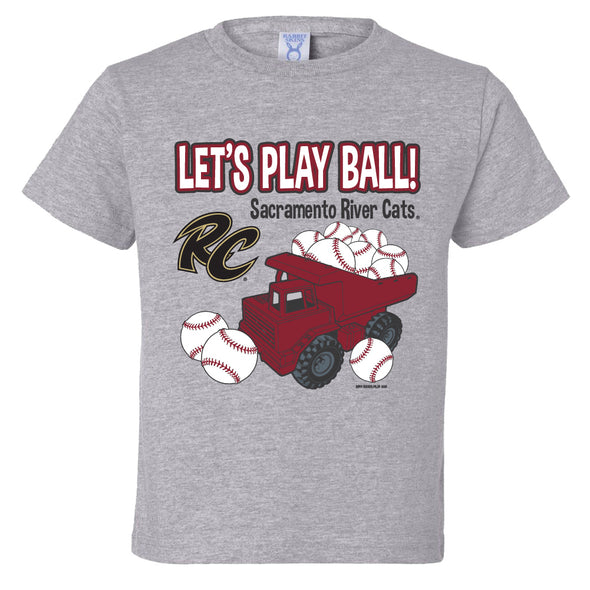 TRUCKS TODDLER TEE, SACRAMENTO RIVER CATS